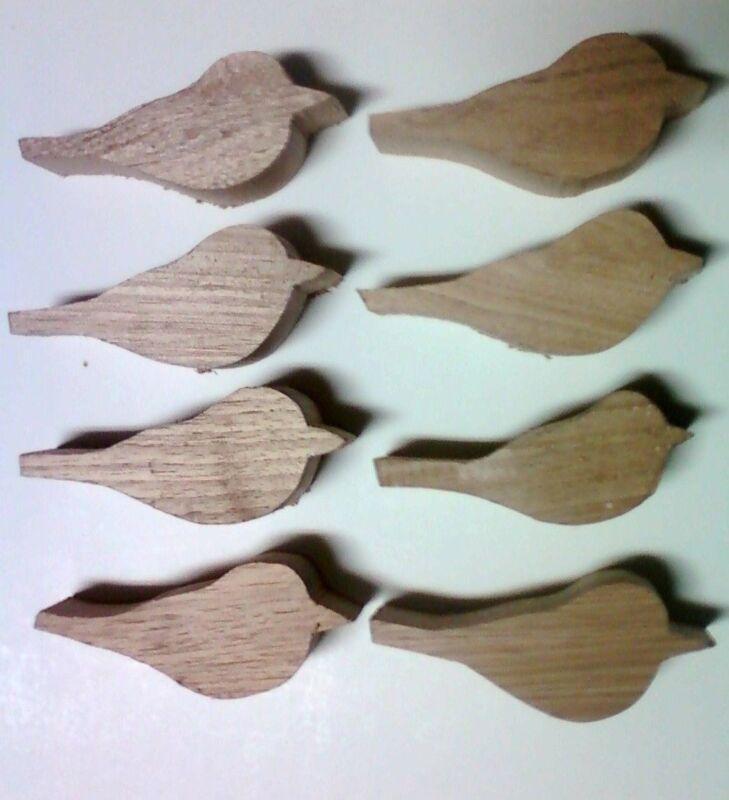 Woodcarving Bird Blanks-choice of Butternut,Bass,Red Cedar,Catalpa-Comfort birds