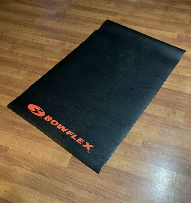 "Bowflex Cardio Machine Black Rubber Mat 89cm (35"") X 145cm (57"") Gym"