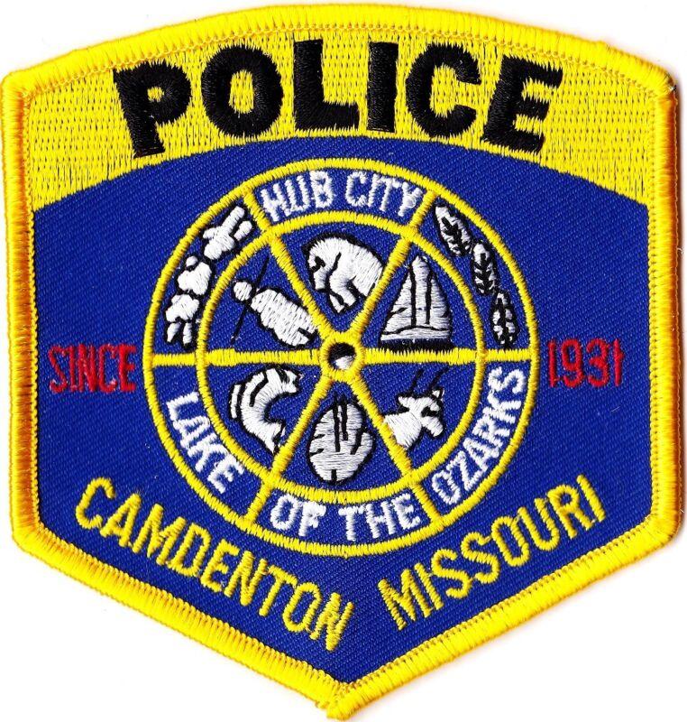 Camdenton Police Patch Missouri MO NEW!!