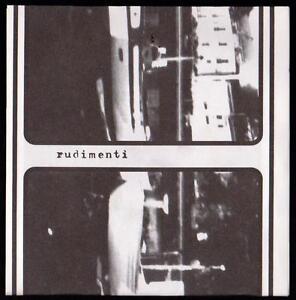 RUDIMENTI-DISCO-7-034-E-P-RAREFATTO-L-039-IDIOTA-AUTOPRODUZIONI
