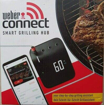 WEBER 3202 Connect smart grilling hub BNIB and still sealed
