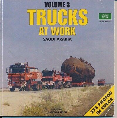 Trucks at Work Vol.3 Heavy Haulage Schwerlast Transport Saudi Arabia Danies Koch