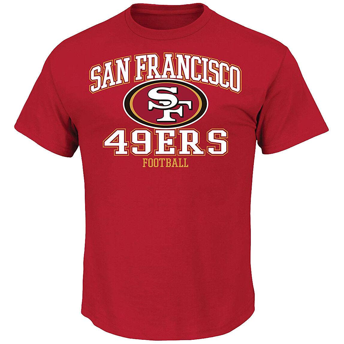 NFL Football San Francisco 49ers T-Shirt Tee Greatness rot