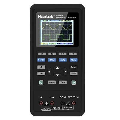 Hantek Handheld 2in1 2ch Digital Oscilloscope Multimeter Tester 40mhz 70mhz Dmm