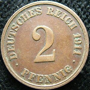 1911 J Germany 2 pfennig - Italia - 1911 J Germany 2 pfennig - Italia