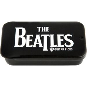 Planet Waves Beatles Collection Pick Tin - 15 Medium Picks - Choice of  Design