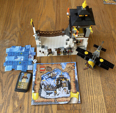 Lego 7417 Temple of Mount Everest Adventurers Orient Expedition 100% Complete
