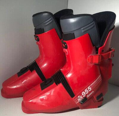 Nordica Super 0.1 Youth Ski Boots Size  11.5 Mondo 17.5 Used