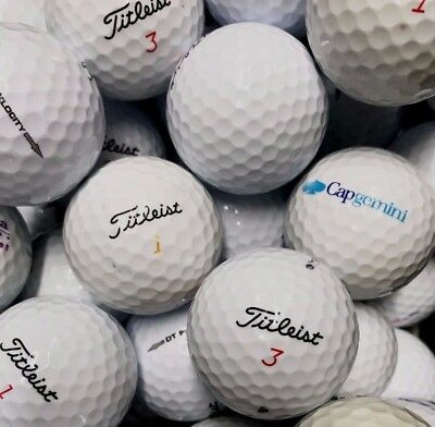 50 TITLEIST MIX palline da golf usate cat 3-4  STELLE (AAAAA) used golf balls