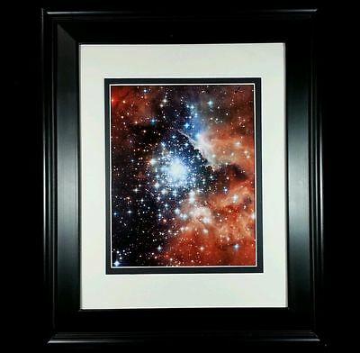 Hubble Space Telescope Milky Way Galaxy Ngc 3603 Photo Print Matted Framed New
