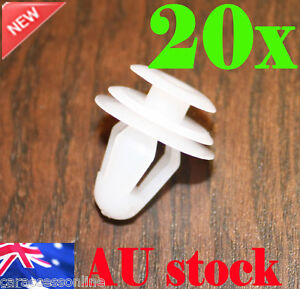 Car Auto Door Panel Trim Fastener Clips Interior Universal Plastic 20pcs