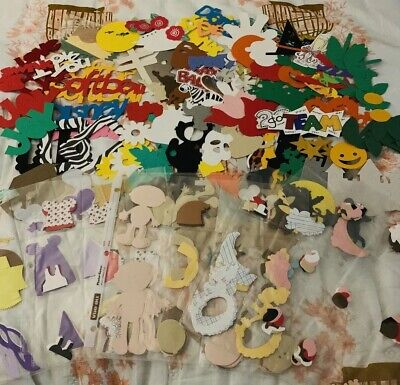 Slash Dress Up (Huge Scrapbook Die Cut Lot Card stock Collection Themes Holiday Words Dress)