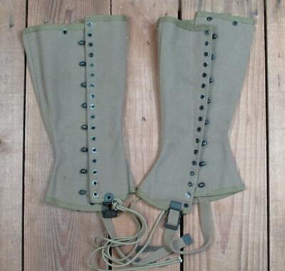 WWII US M1938 DISMOUNTED FIELD LEGGINGS LACES
