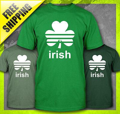 St Patty's Day Shirts (IRISH CLOVER ST. PATTY'S DAY PATRICK'S SOCCER PADDY'S LEAF FUNNY T-SHIRT)