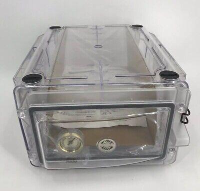 Bel-art Secador Clear 1.0 Vertical Desiccator Cabinet 0.7 Cu. Ft. F42071-0000