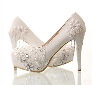 Wedding Shoes Size 6- New