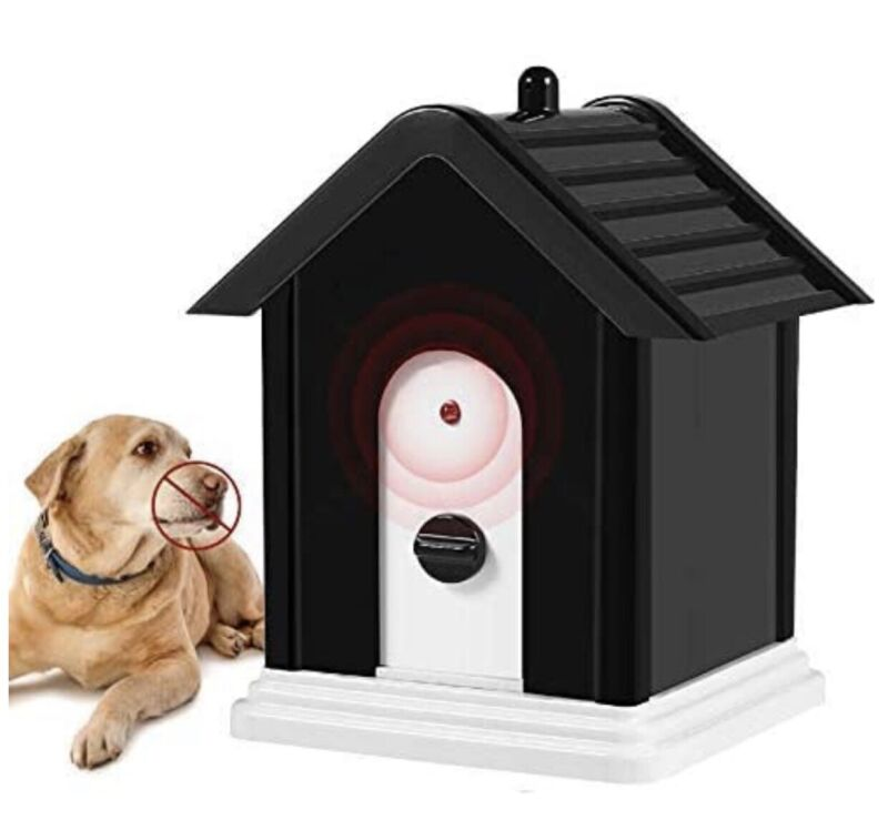 Geohee Anti Barking Device, 2020 Advanced Outdoor Dog Repellent Device Bark Box