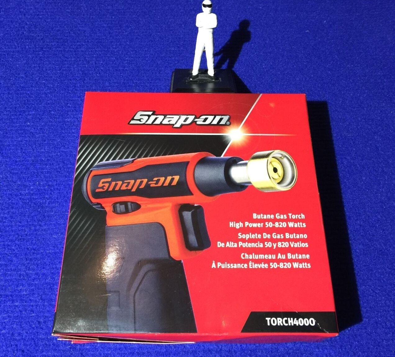 Snap On Cordless High Power Butane Gas Blow Torch 50/820 watts TORCH400O Orange