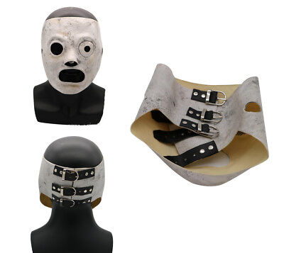 Slipknot Corey Taylor Cosplay Mask Costume Props Adults Halloween Party Mask (Taylor Costume)
