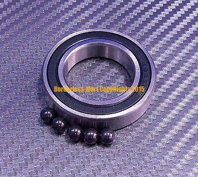 Qty 1 6904-2rs 20x37x9 Mm Hybrid Ceramic Rubber Ball Bearing Bearings 6904rs