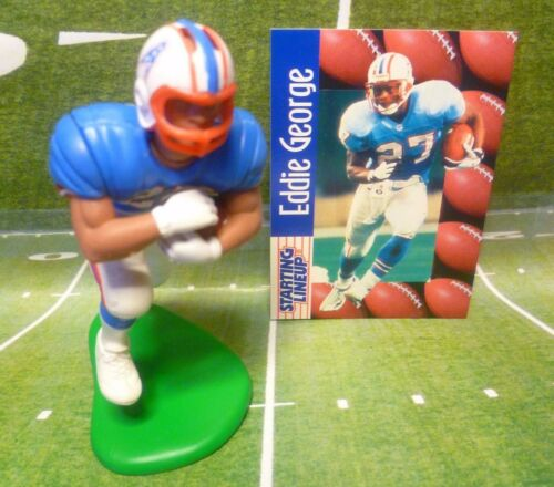 SLU CD 1999  EDDIE GEORGE TENNESSEE OILERS - Starting Lineup Card