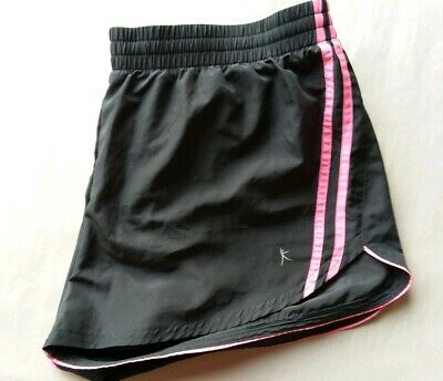 Danskin Now Woven Running Shorts Pre-Owned Size Large  ()