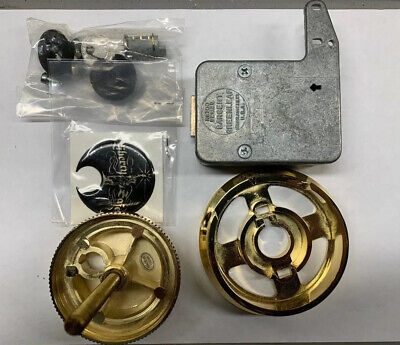 Sg Combination Safe Lock 6741-liberty Safe-brass Polished Finish-locksmith