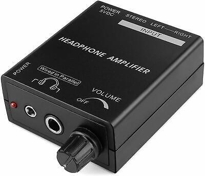 Auriculares Estéreo Amplificador USB O Externo Potencia Cascos Amperios