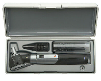 Otoscope Set Heine Mini 3000 F.o. With Battery Handle In Hard Case