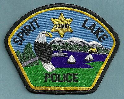 SPIRIT LAKE IDAHO POLICE PATCH