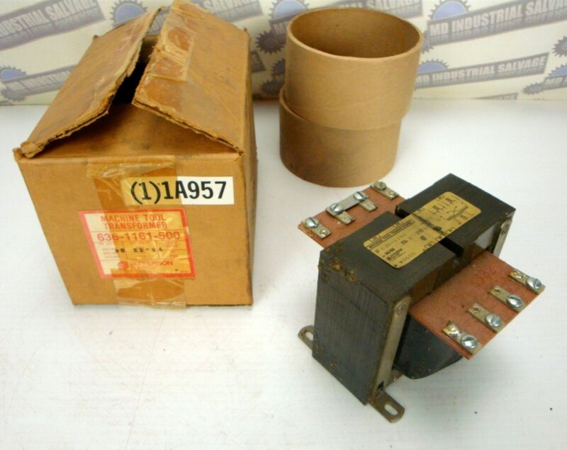 (NEW in BOX) JEFFERSON- Machine Tool Transformer - PART # 636-1161-500