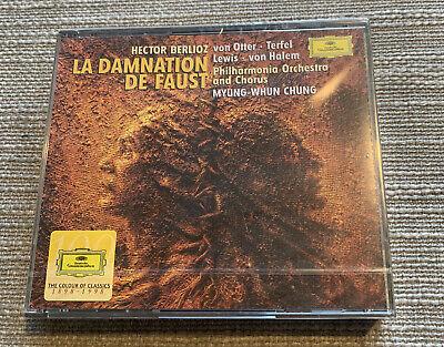DG 453500-2 (2) CHUNG ~ BERLIOZ ~ LA DAMNATION DE FAUST ~...
