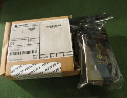 Allen Bradley 1785-TR10B2 Ser. A, AUI to Thin Wire Ethernet Transceiver