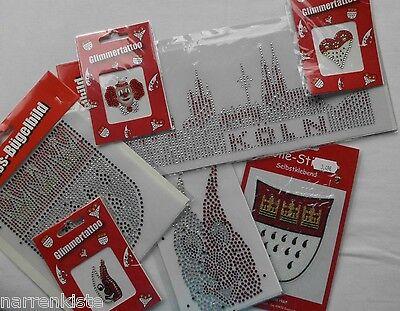 Rot Weiß Kleid Kostüm (Köln Rot Weiß Bügelbild Kolnköstüm Kostüm Kleid Kölnartikel Schriftzug Aufnäher)