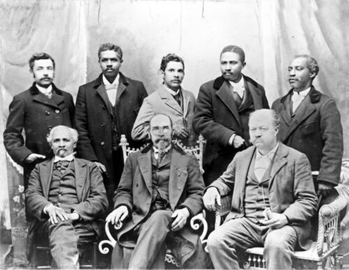 Only African American Cotton Mill in U.S.-Board of Directors-1899 Photo