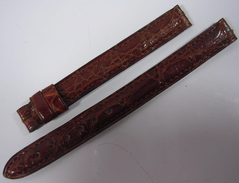 Bracelet cuir cartier pour montre 10 mm stock ancien