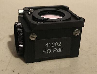 Nikon Fluorescence Cube Microscope Chroma 41002 Hq Tritc Cy3 Dii