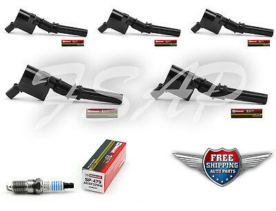 Tune Up Kit 1998 Ford F250 5.4L V8 Heavy Duty Ignition Coil DG508 SP479 FG872
