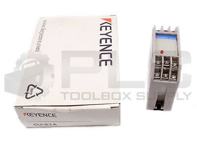 New Keyence Cu-21a Photoelectric Control Unit 8106611