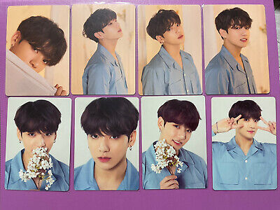 Official BTS Love Yourself Jungkook Mini Photocard Set (8pc)