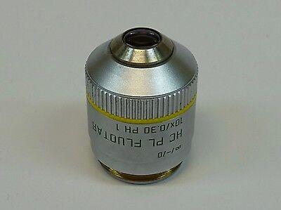 Leica Hc Pl Fluotar 10x0.30 Ph1 -d Microscope Objective Pn 506507