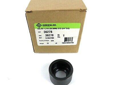 Greenlee 36278 Slug-buster Replacement Die 1.218 30.5mm Std 34 Ds