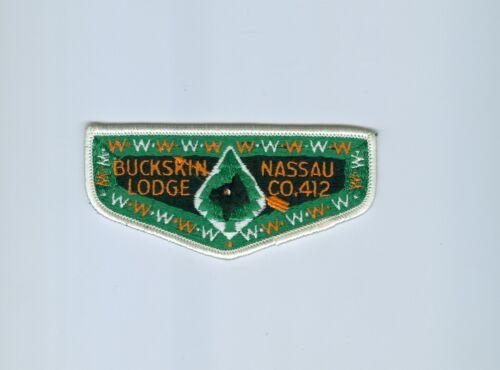 OA  Lodge 412 Buckskin pre flap