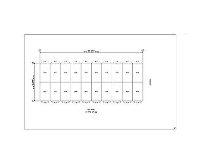 Duro Steel 20x50x8.5 Metal Prefab Mini Self Storage Building Structures Direct