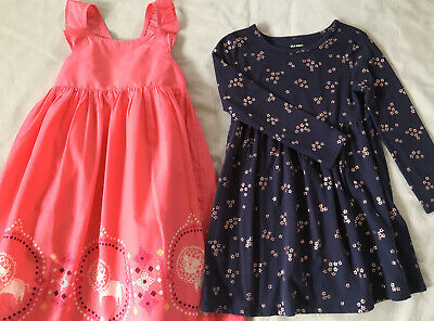 Two Girls Size 5 Dresses Gymboree Summer And Old Navy Spring Casual Dress