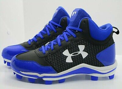 248d8ba46 Under Armour Mid TPU Baseball Cleats in Boys size 5Y (Fits women  6.5)1279395-041