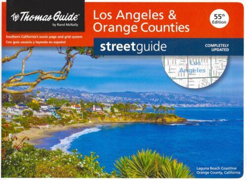 Thomas Guide, Los Angeles & Orange Counties Street Guide California Rand McNally