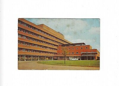 Vtg Postcard University of Tennessee Memorial Research Center Hospital Knoxville