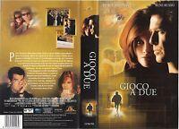 Gioco A Due (1999) Vhs Ex Noleggio -  - ebay.it
