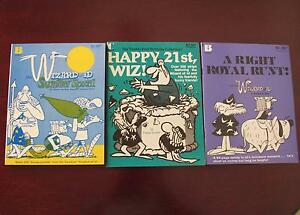 """30 """"WIZARD OF ID"""" Books of the Cartoons by Parker and Hart Wembley Cambridge Area Preview"""
